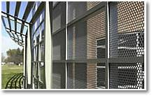 Perforated Metal for Outdoor Decoration