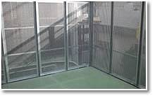 Safety perforated metal