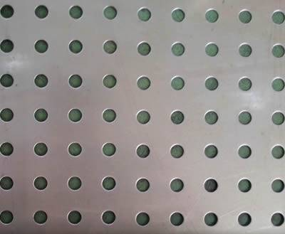 Aluminum Perforated Metal Round Square Slotted Hole